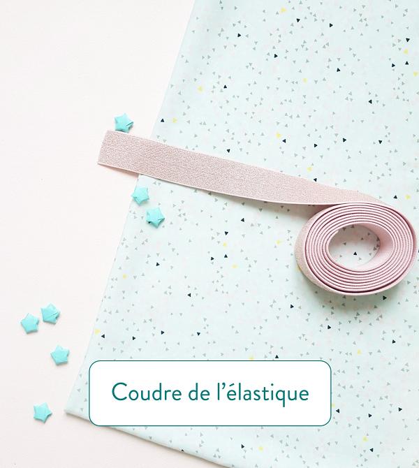 Astuces couture coudre de l'élastique