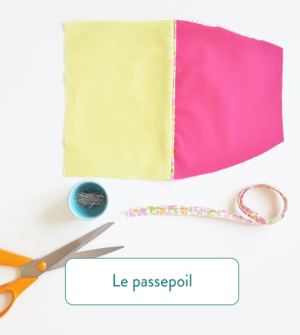 Astuces couture le passepoil
