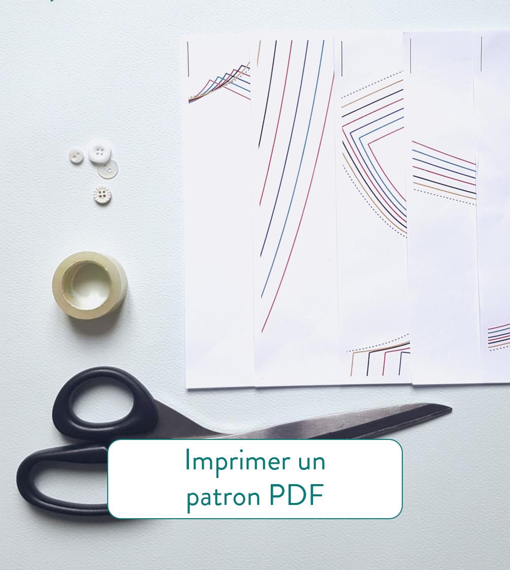 Astuces couture imprimer un patron PDF