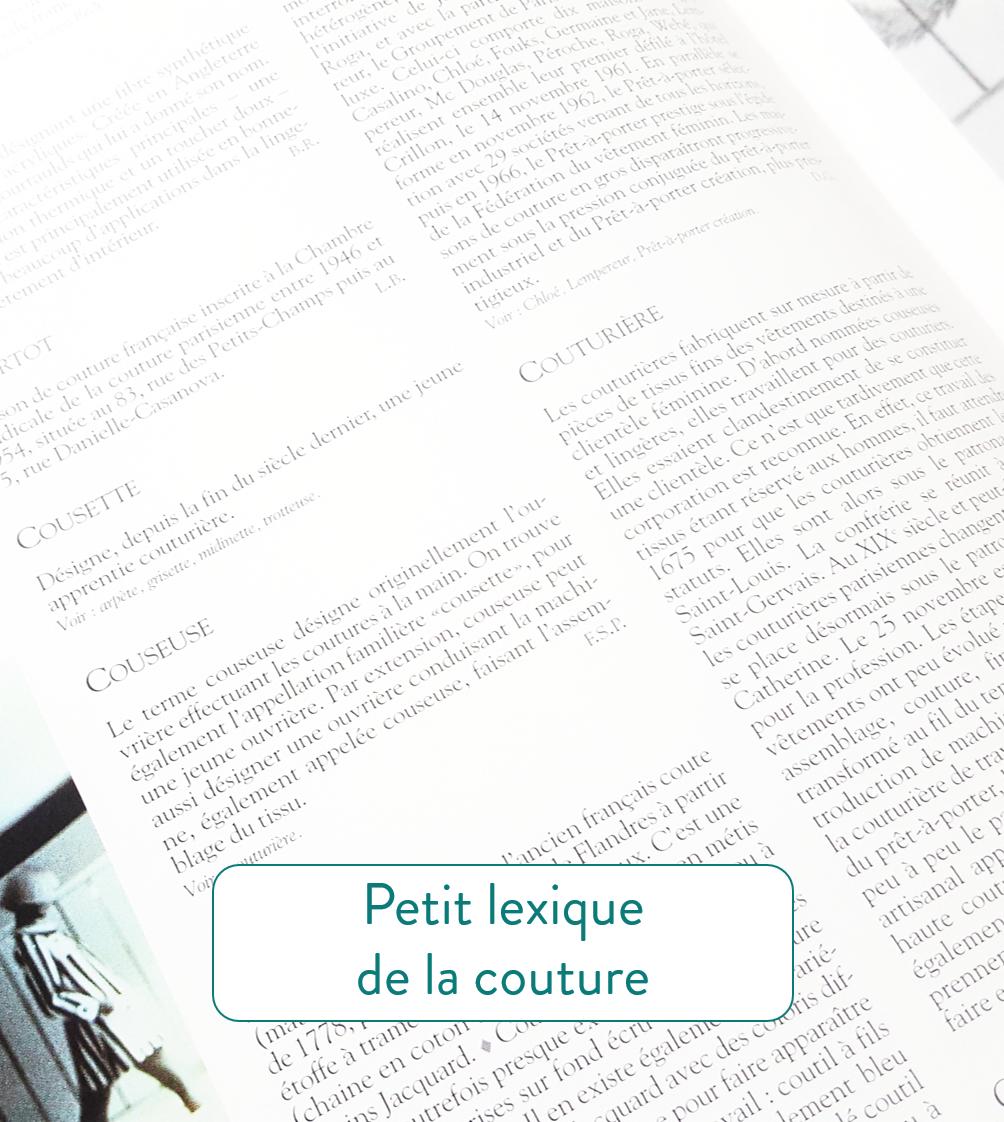 infos couture bonus - lexique couture-les patronnes