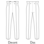 patron de pantalon ultra facile et adaptable facilement pantalon calder les patronnes avec tuto video