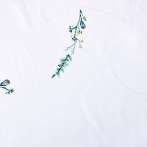 Kit prêt-à-découper top Matisse- motif de votre choix