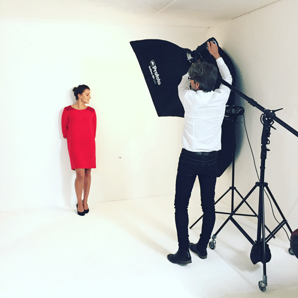 Les coulisses du shooting photo