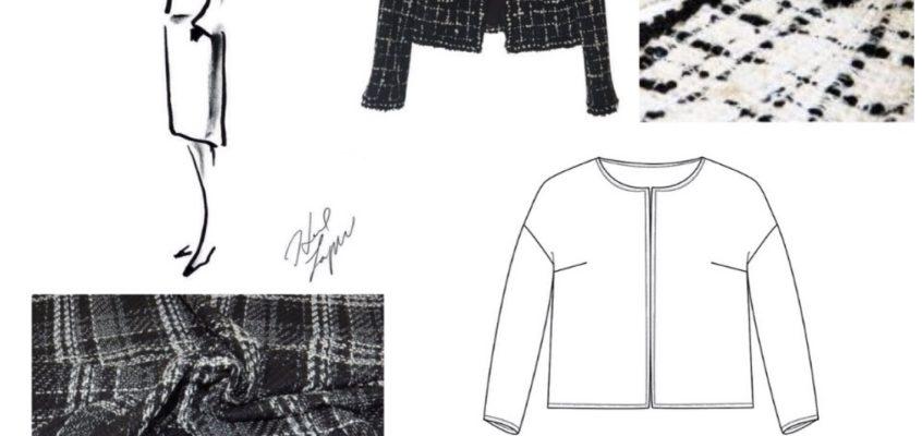 La veste Monet, style petite veste Chanel !