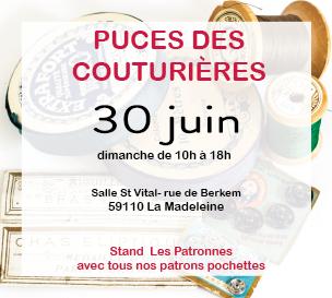 Puces des Couturières à Lille le 30 juin